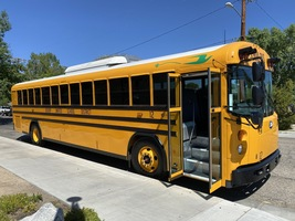 BUSD's new Bluebird Electric Bus!